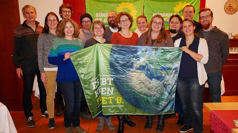 Gruppenbild unsere Gemeinderatsliste 2020 mit Landratskandidat Robert Wäger